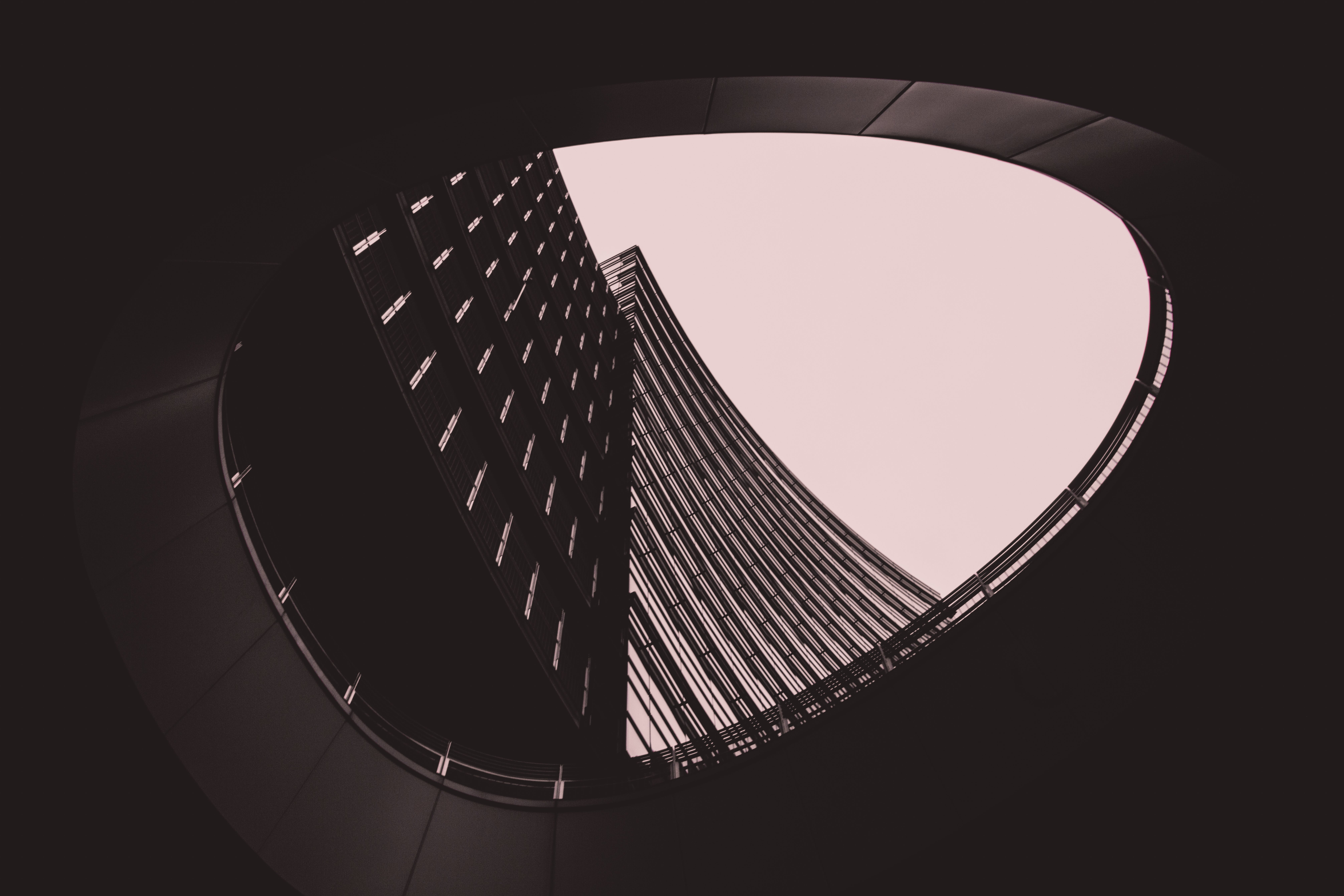Free stock photo of architecture, black, black and white, building