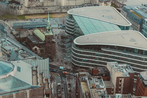 倫敦, 屋頂, 市區 的 免费素材图片