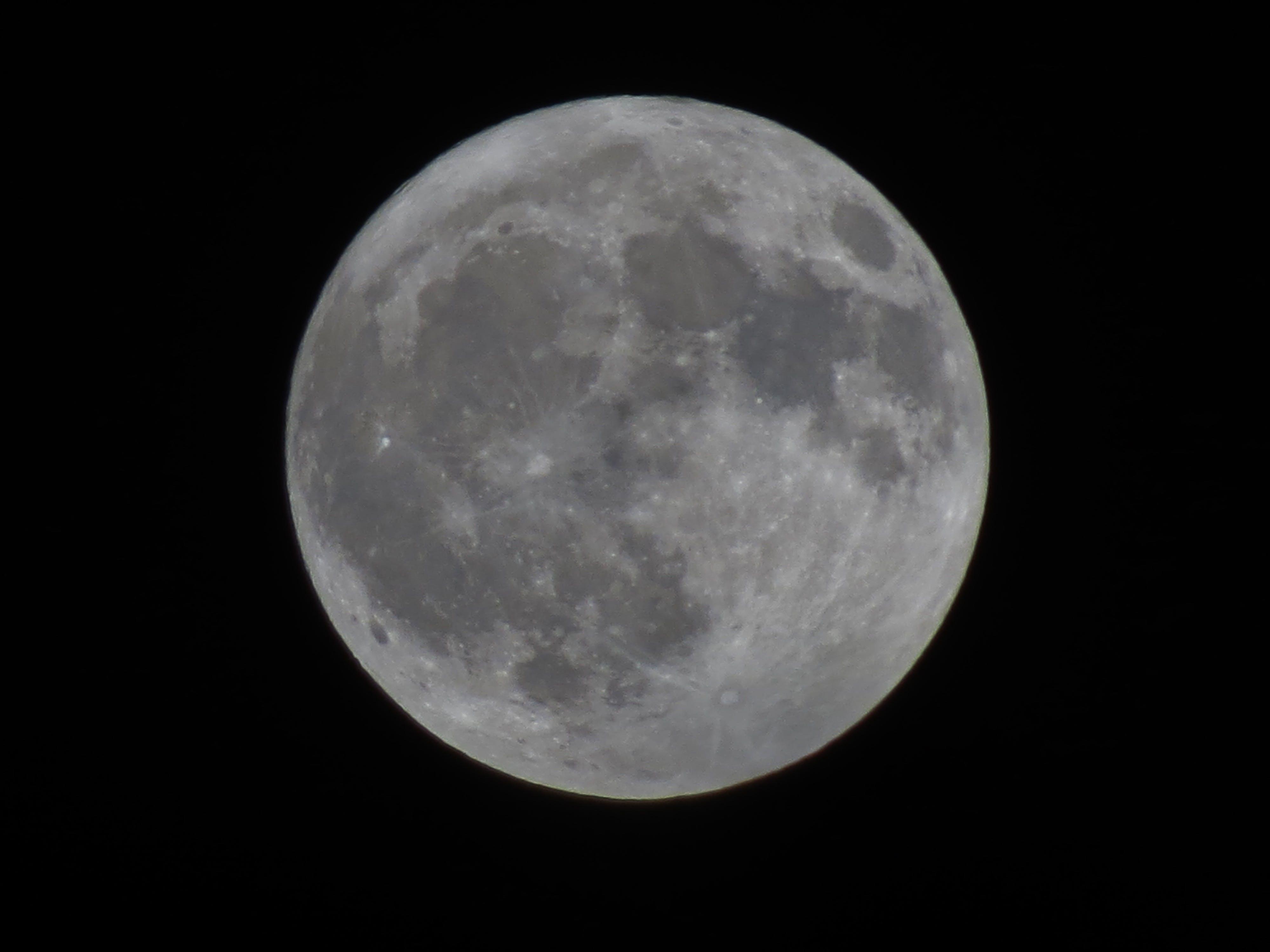 Foto profissional grátis de lua, lua 5 sept. 2017, lua cheia