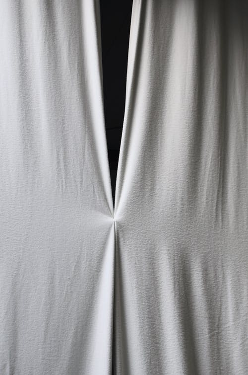 Textil Blanco Sobre Fondo Blanco