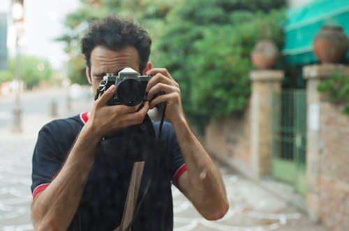 Free stock photo of bokeh, film, nikkormat