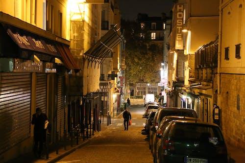 Free stock photo of france, lights, night