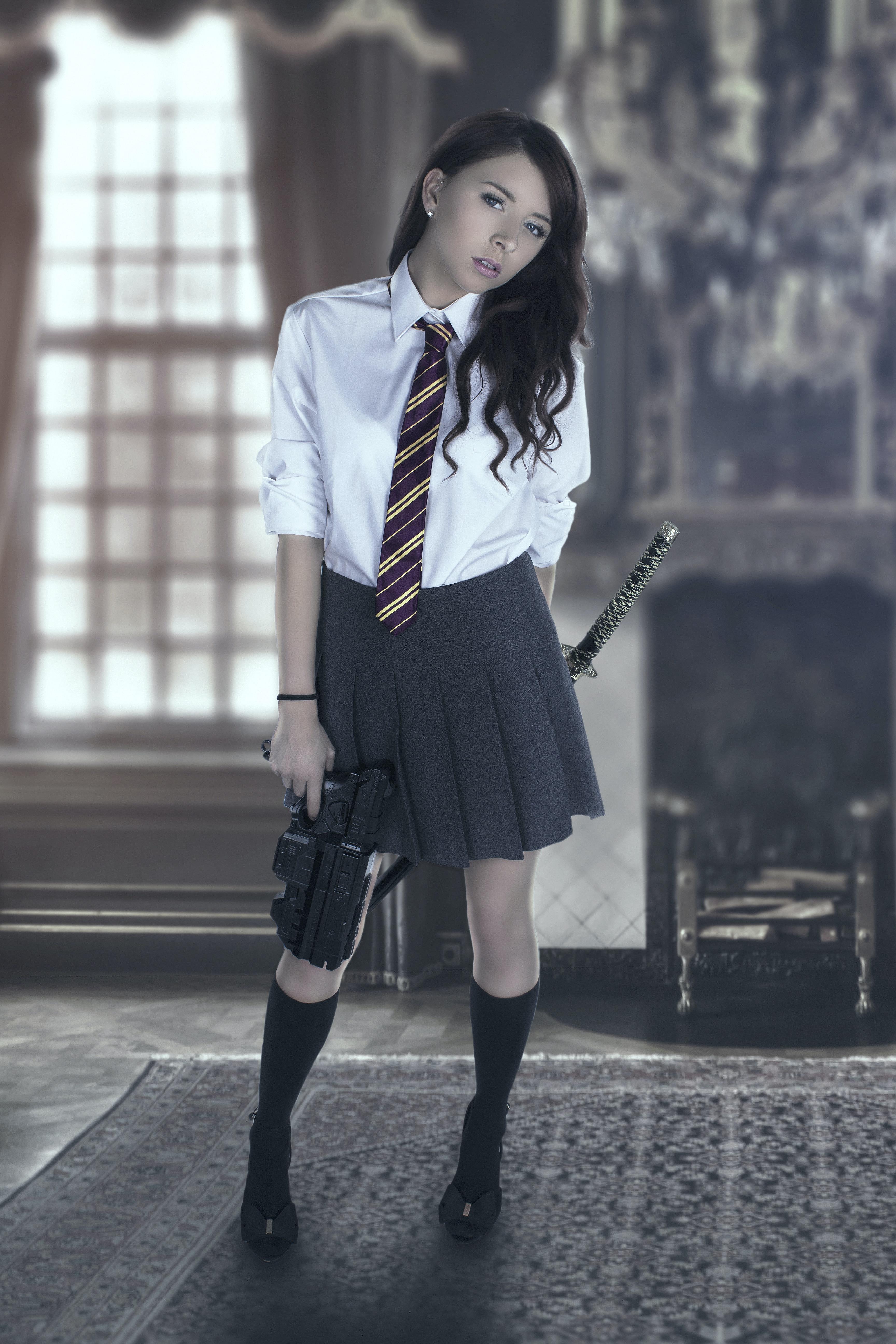 Free stock photo of cosplay, japanese school girl uniform ...