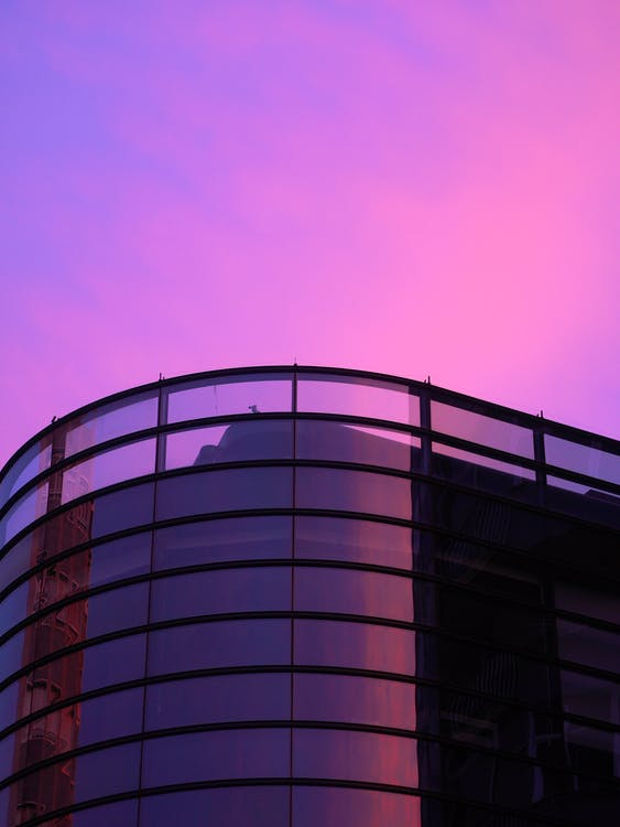 Free stock photo of Atardecer, building, evening sky