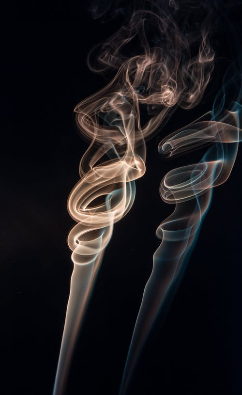 White Smoke Wallpaper