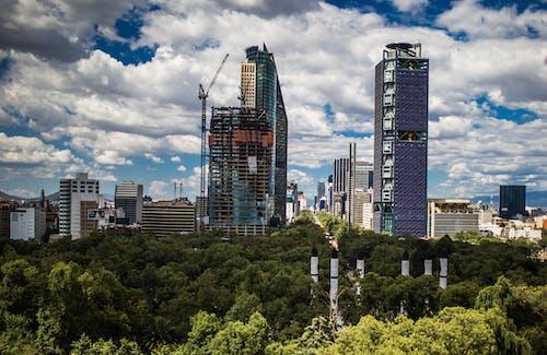 Бесплатное стоковое фото с вид на город, городской пейзаж, мексика