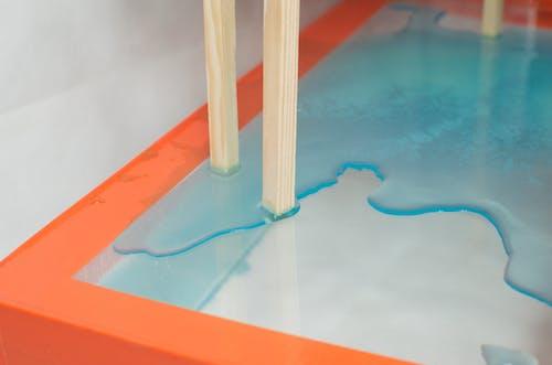 Imagine de stoc gratuită din abstract, acrilic, albastru