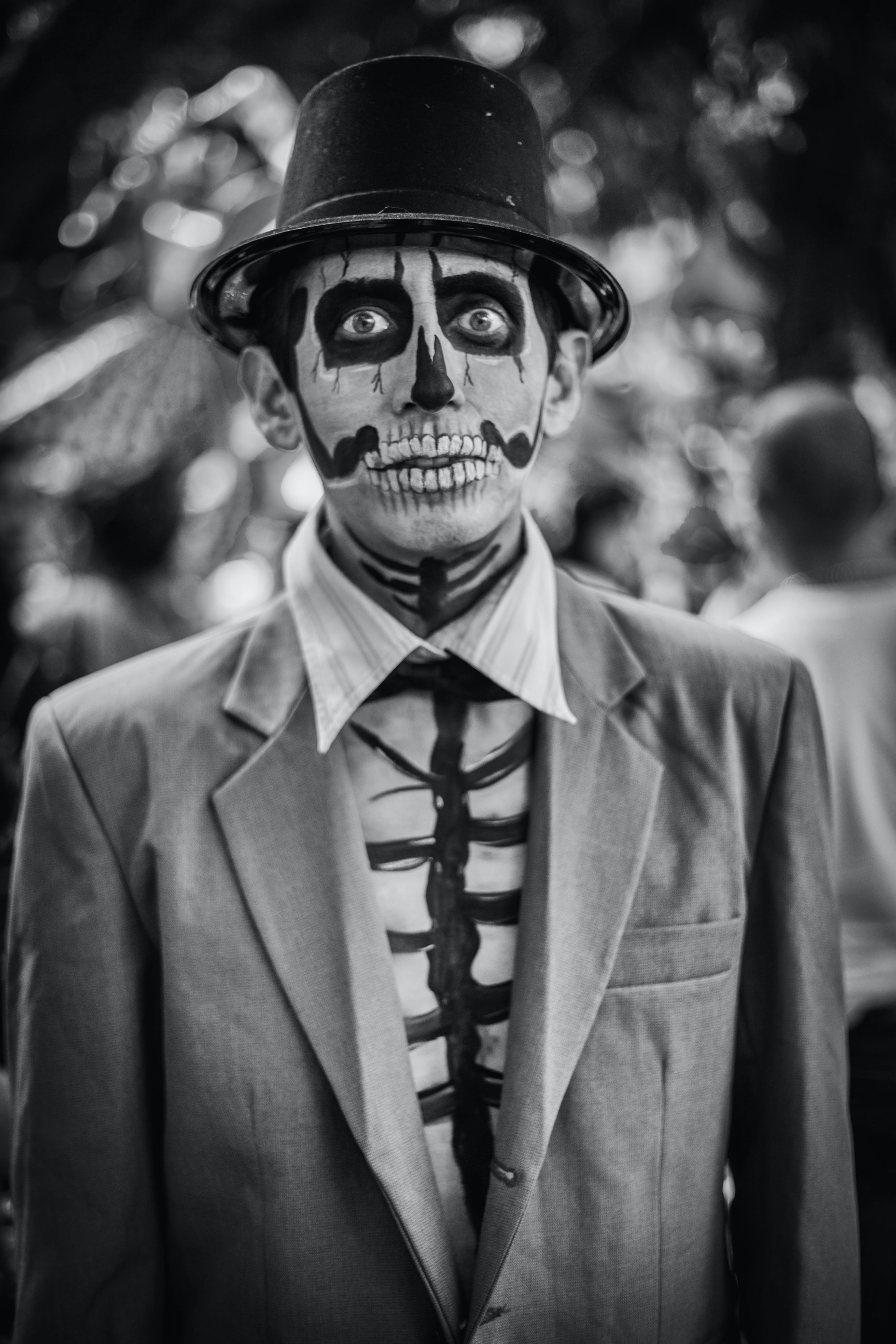 Free stock photo of dia de los muertos, halloween, people