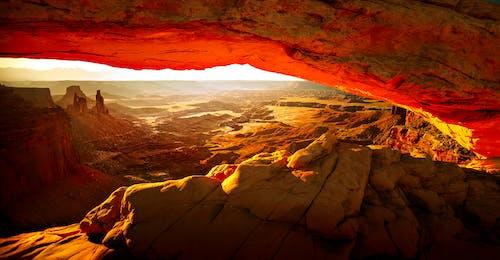 Gratis stockfoto met amerika, canyon, droog