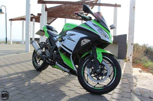 Free stock photo of 300, kawasaki, motorcycle, motorcycle engine
