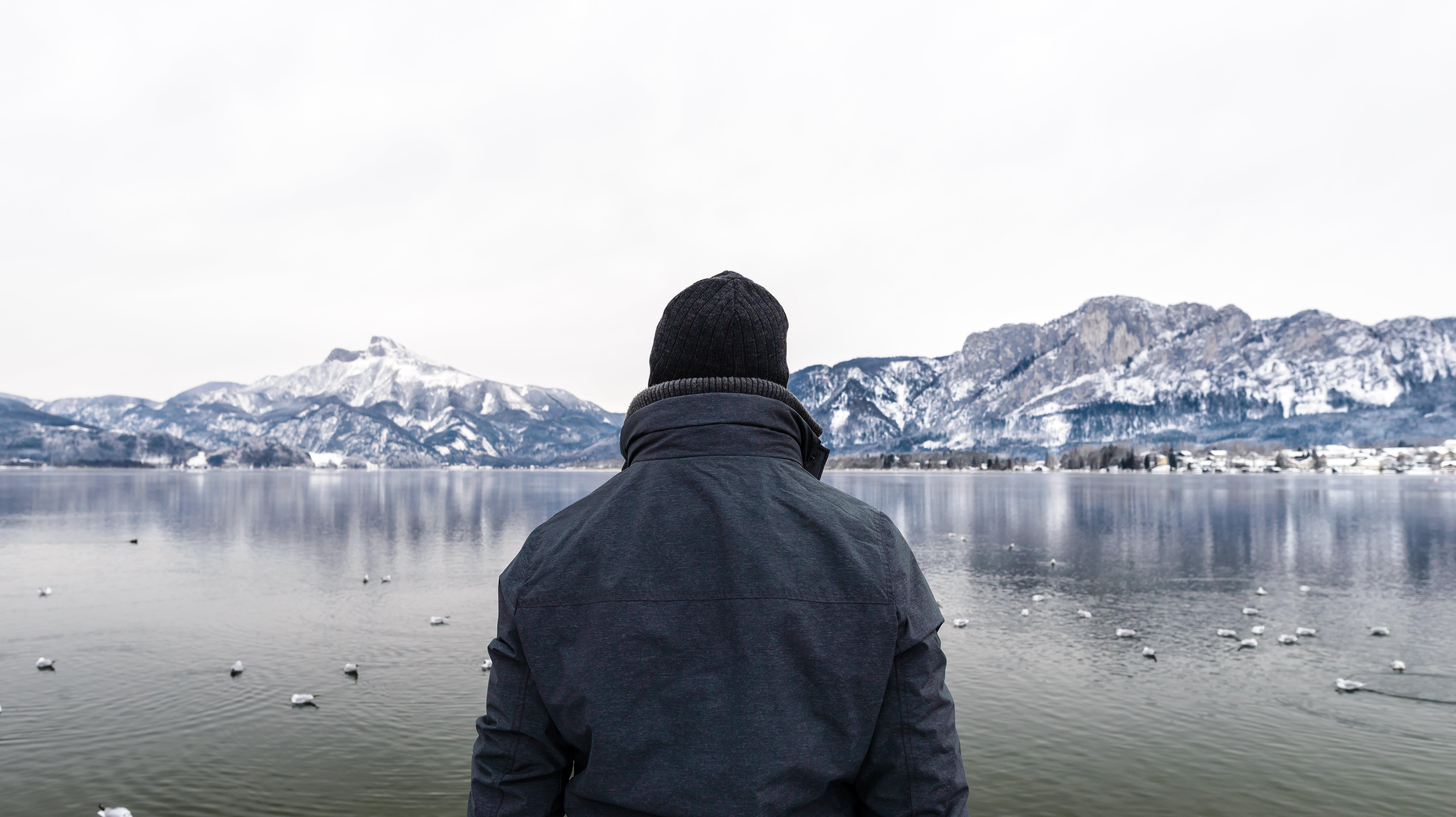 Kostenloses Stock Foto zu schnee, berge, natur, mann