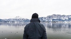 schnee, berge, natur