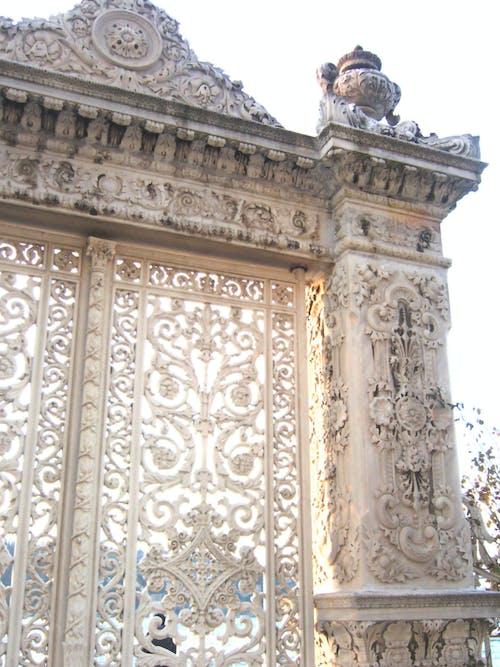 Free stock photo of palace gate at kücüksu