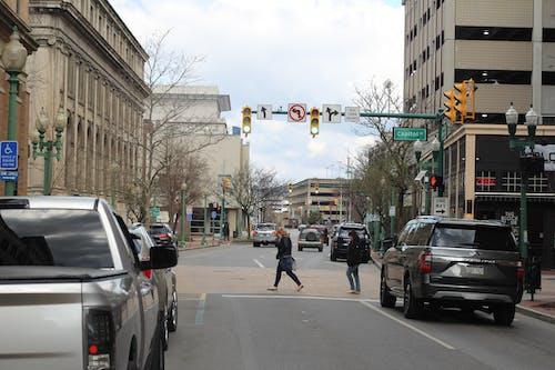 Free stock photo of capitol street, cars, charleston west virginia