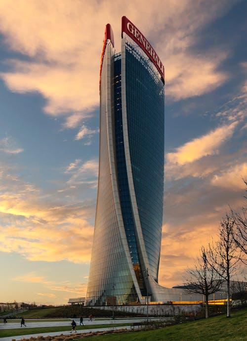 Free stock photo of city life, milan, skyscraper