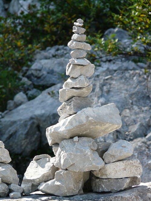 岩石, 平衡, 石堆, 石頭 的 免費圖庫相片