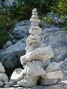 felsen, steine, balance