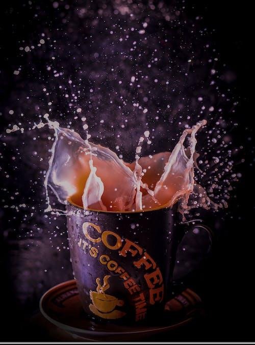Free stock photo of coffeeâ, splash