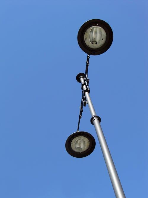 Бесплатное стоковое фото с фонарный столб