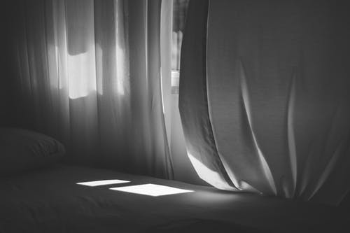 Free stock photo of bed, light and shadow