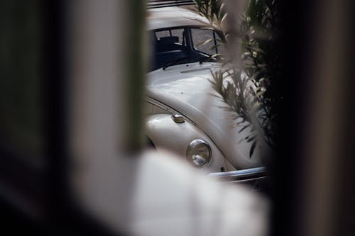 Free stock photo of fusca, old car, volkswagen