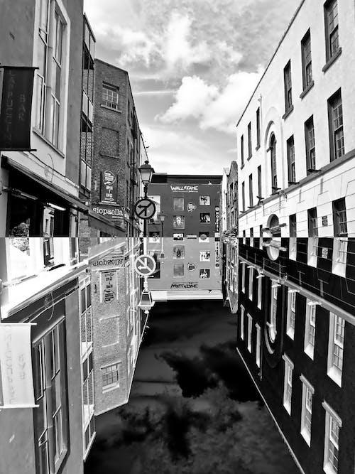 Free stock photo of negative, street