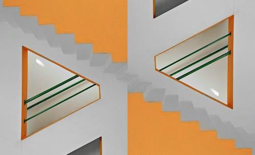 Free stock photo of mirror image, staircase
