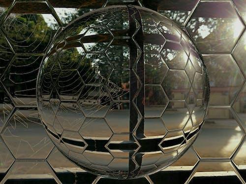 Free stock photo of cobweb, hexagon
