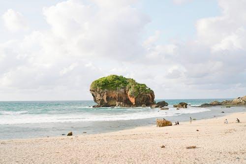 假期, 在沙灘上, 夏天 的 免費圖庫相片