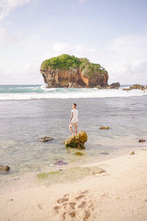假期, 冒險, 在沙灘上 的 免費圖庫相片