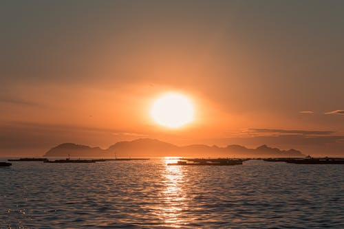 Ảnh lưu trữ miễn phí về biển, bình minh, bờ biển, bóng