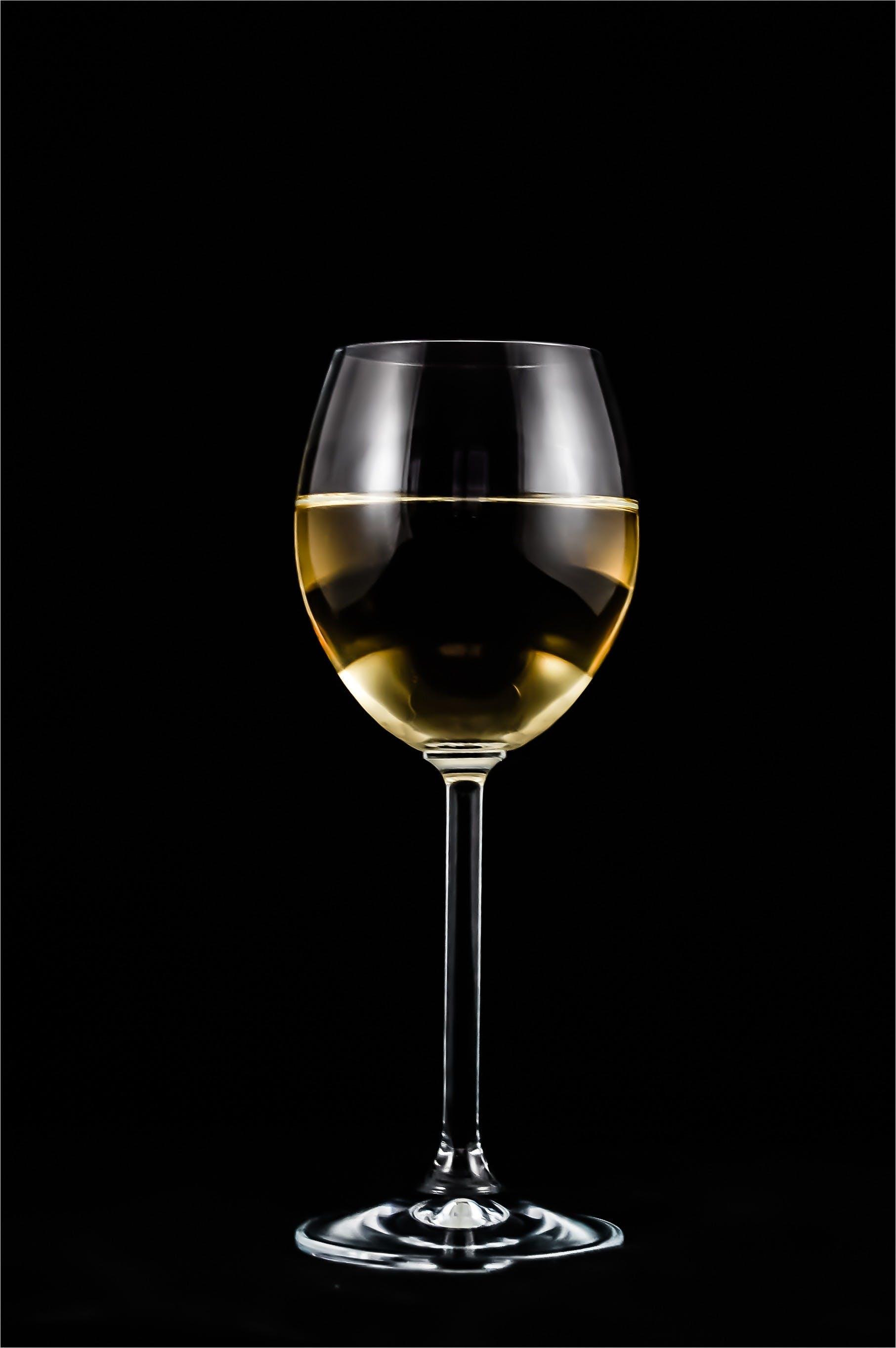 Clear Stem Glass Half Liquid