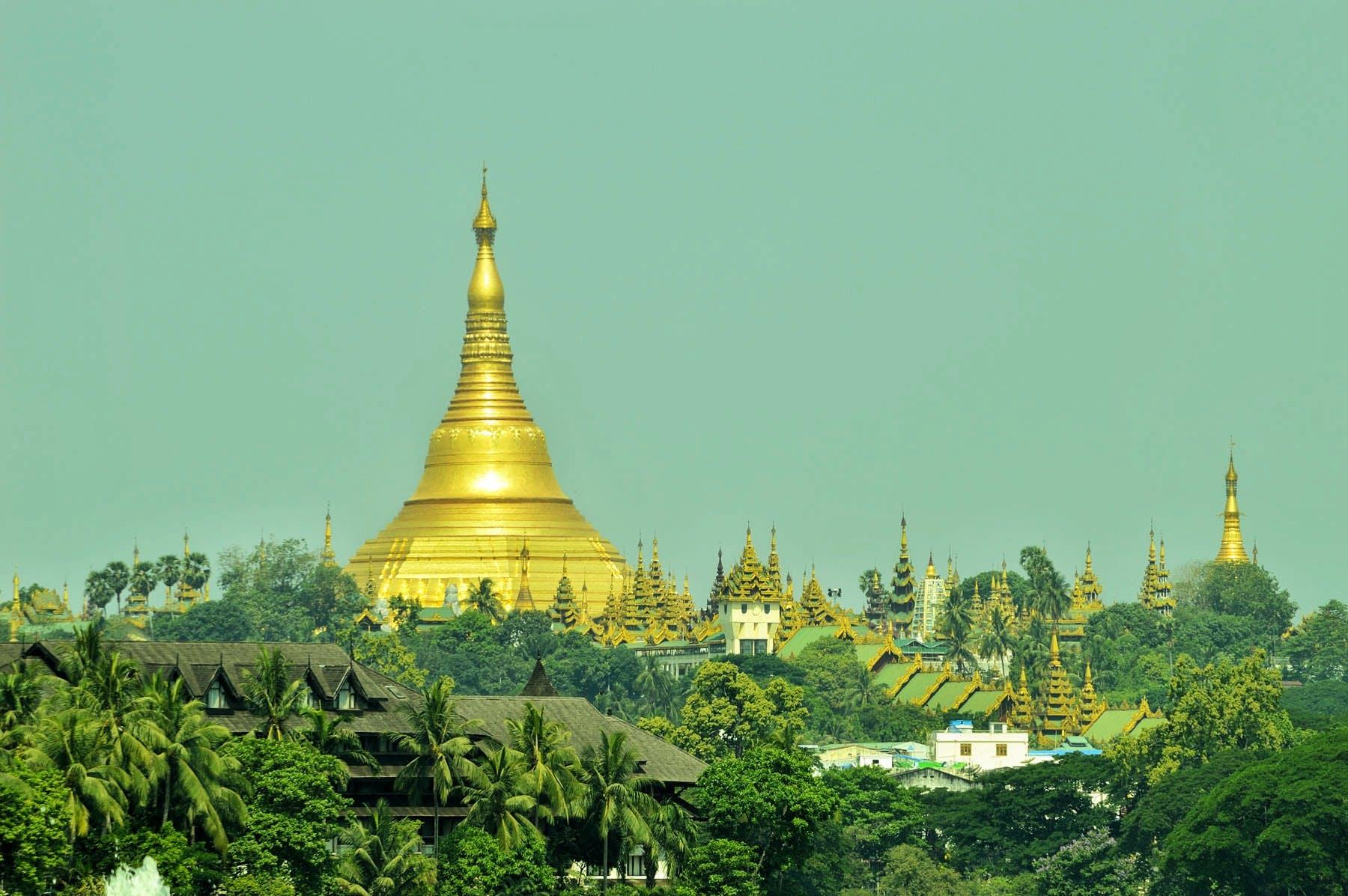Free stock photo of myanmar, shwedagon pagoda, yangon