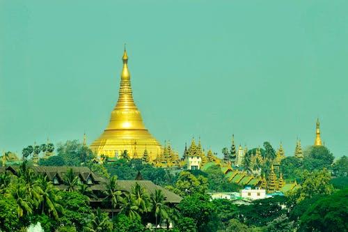 Základová fotografie zdarma na téma myanmar, shwedagon pagoda, yangon