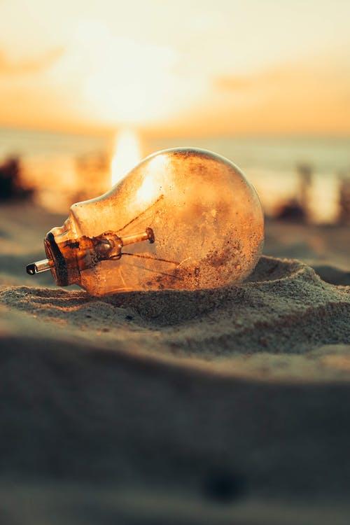 Gratis arkivbilde med daggry, hav, lett, lys