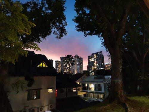 Free stock photo of evening sky