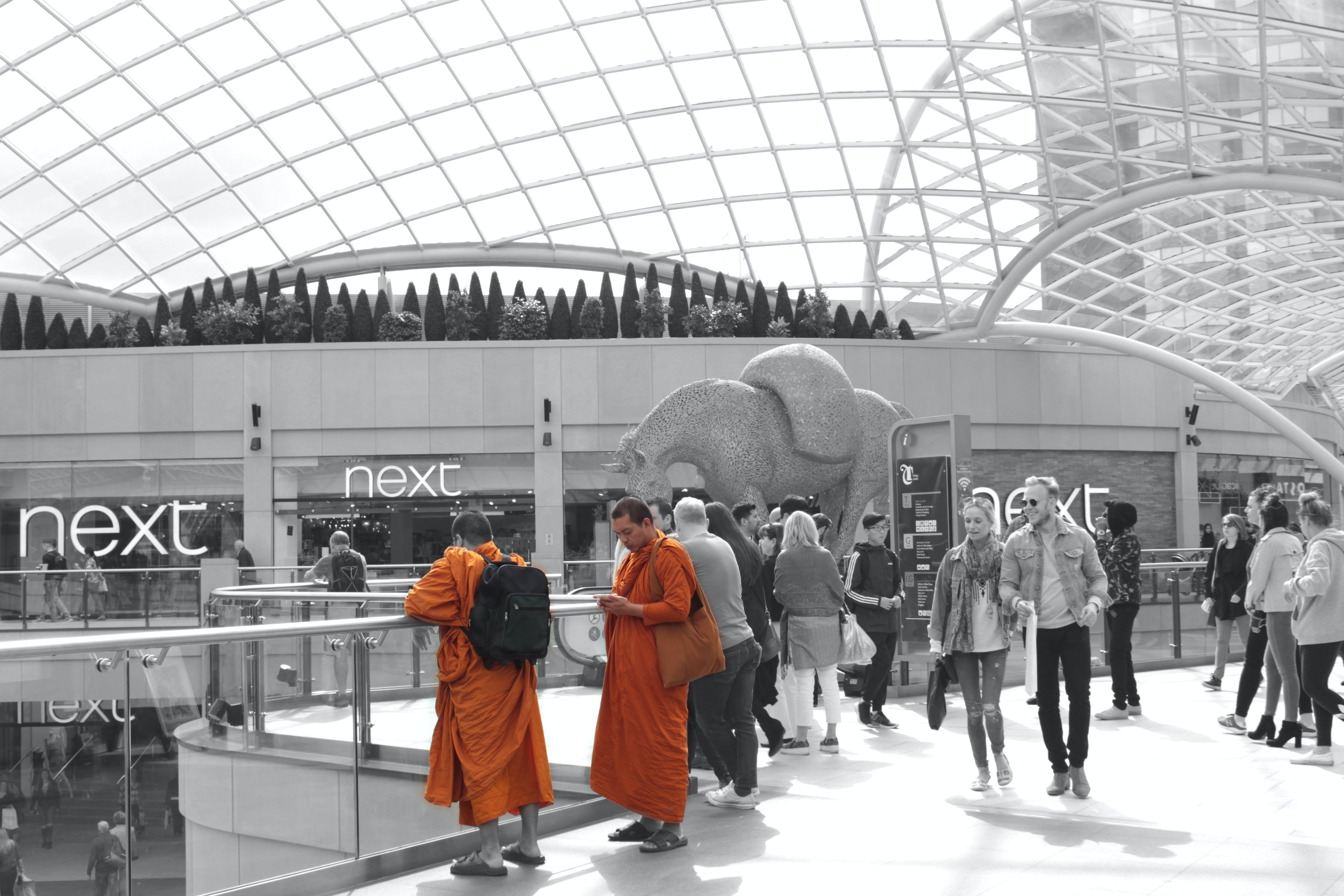 Free stock photo of black and white, brand trademark, branding, Buddhism