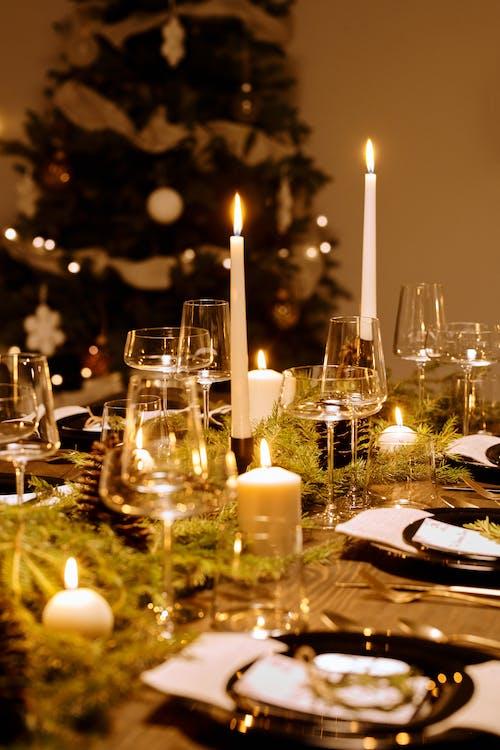 Elegant Table Set-Up for Christmas