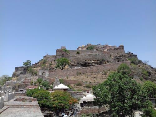Free stock photo of kumbhalgarh fort