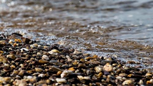 Darmowe zdjęcie z galerii z fala, kamienie, mokry, morska plaża