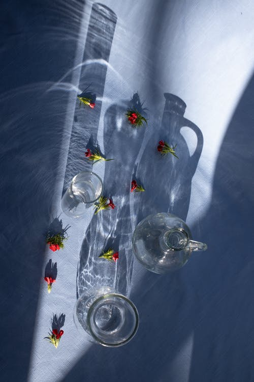 オーガニック, オーバーヘッド, ガラスの無料の写真素材