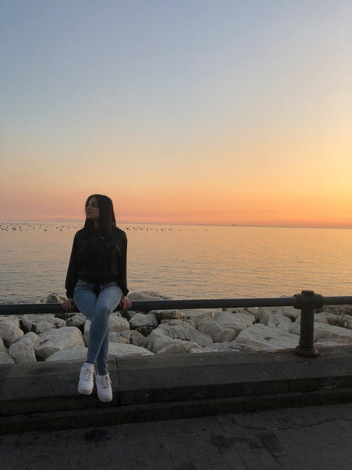 Free stock photo of beach sunset, beautiful, golden sunset