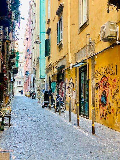 Free stock photo of city, graffiti, Naples