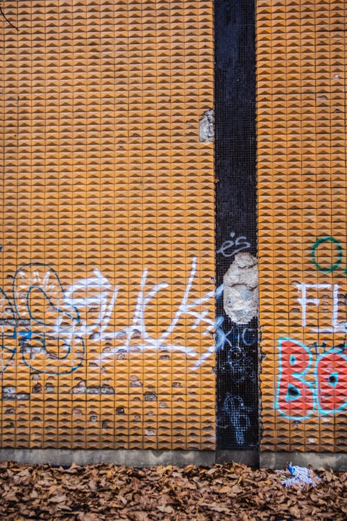 Free stock photo of 70s, beige, graffiti