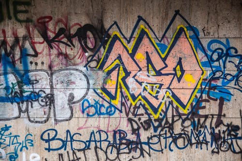 Free stock photo of facade, graffiti, wall