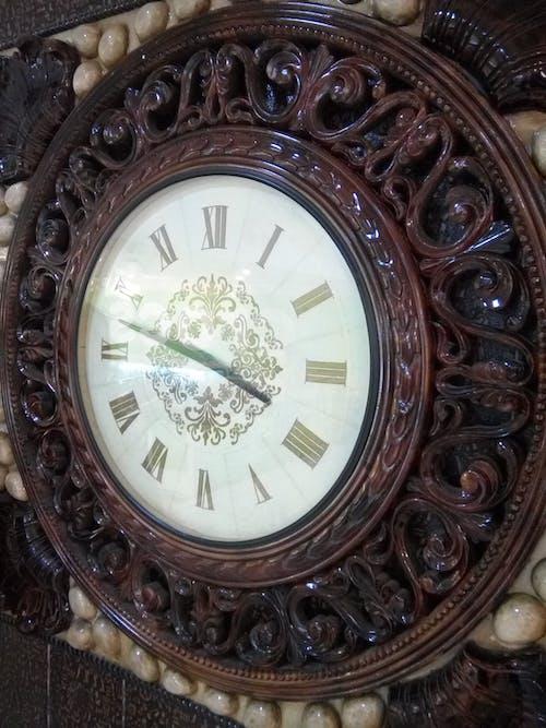 デコレーション, 壁時計, 室内装飾の無料の写真素材