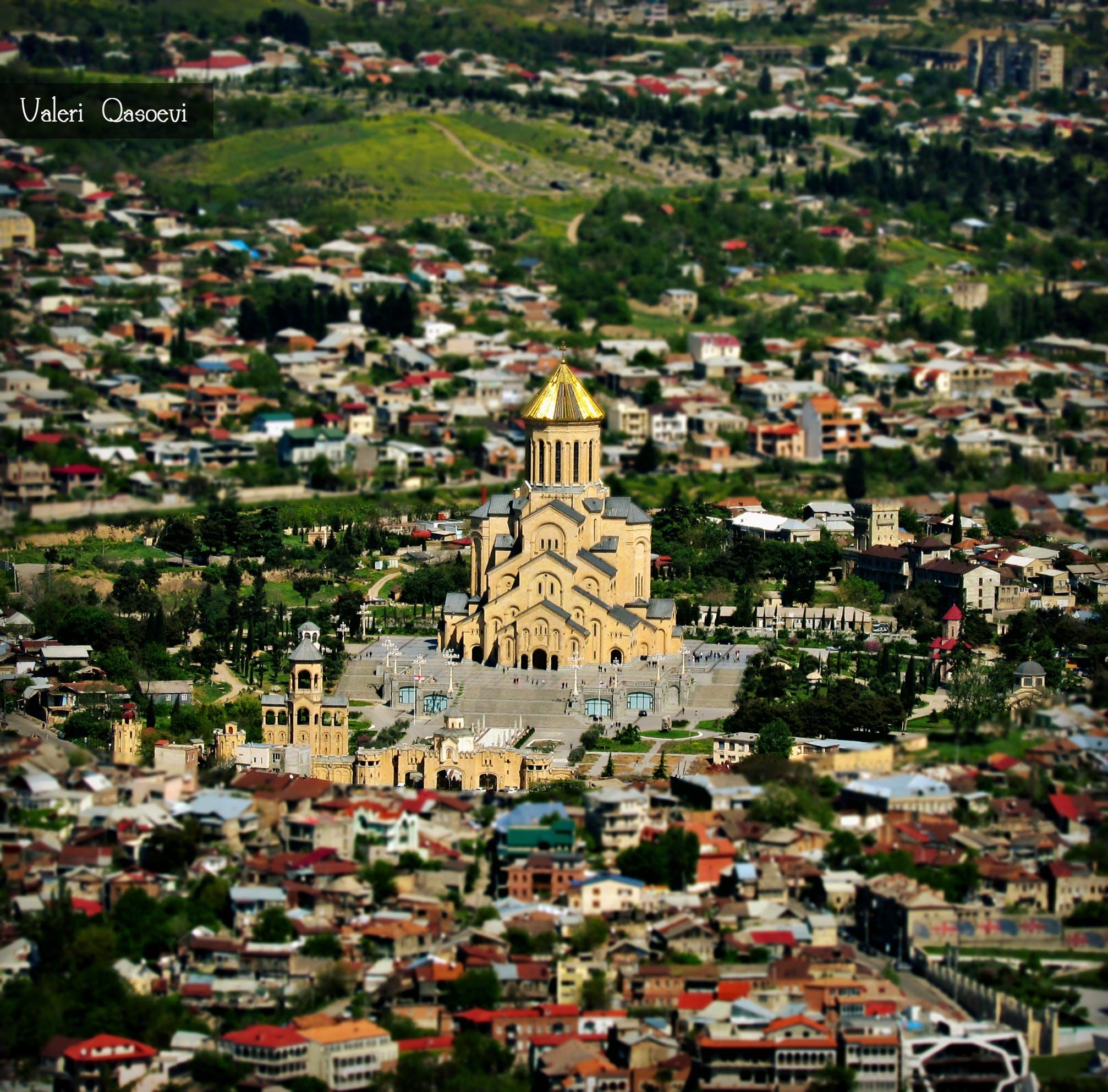 Free stock photo of georgia, sameba, Tbilisi