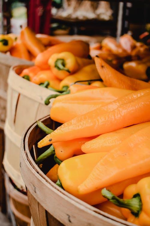 Orange Carrots in Stainless Steel Bowl