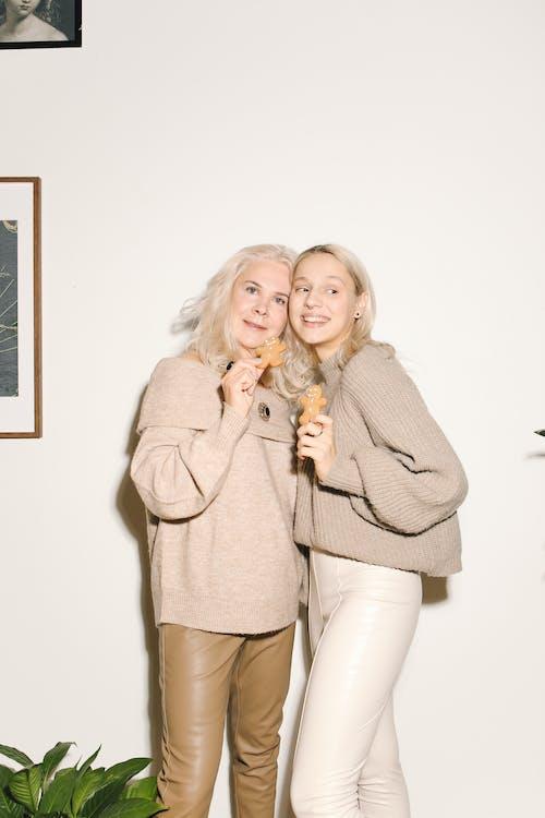 Gratis stockfoto met blijdschap, blondine, familie