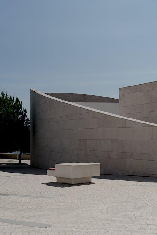 Imagine de stoc gratuită din arhitectură modernă, beton, cer albastru